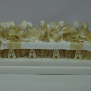 The statue of Last Supper in Patina color