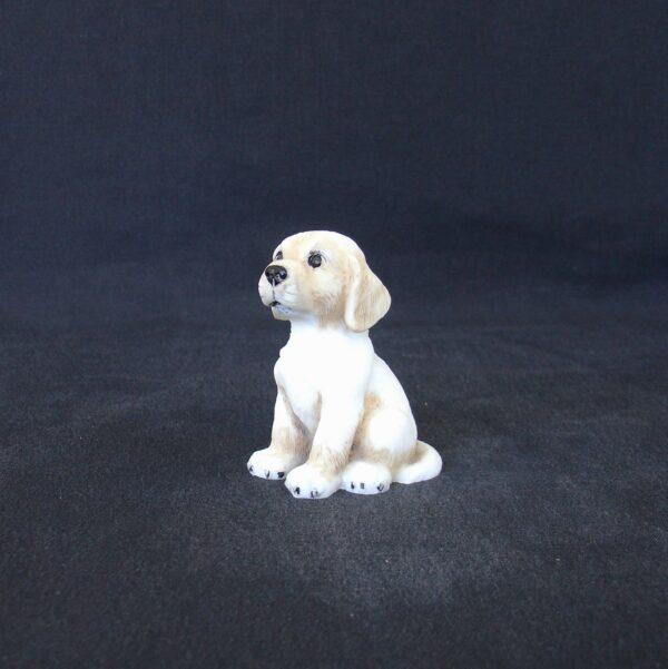 Greek statue of a Labrador pet dog statue