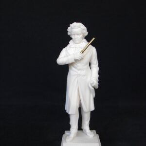 Greek statue of the famous German composer Ludwig van Beethoven in White color