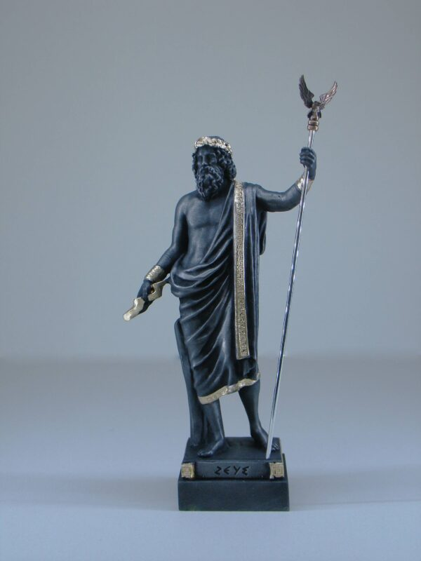 Zeus stands and watches in Black color